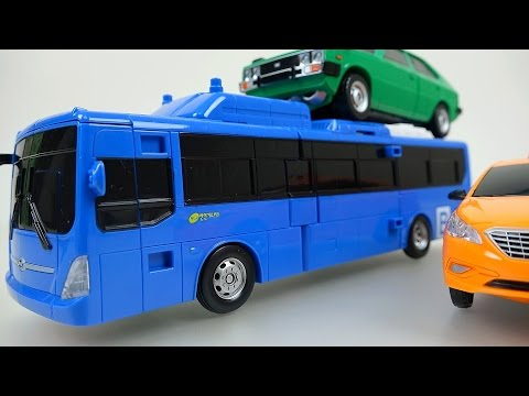 CarBot Bus 헬로카봇 Hello CarBot transformers car toys