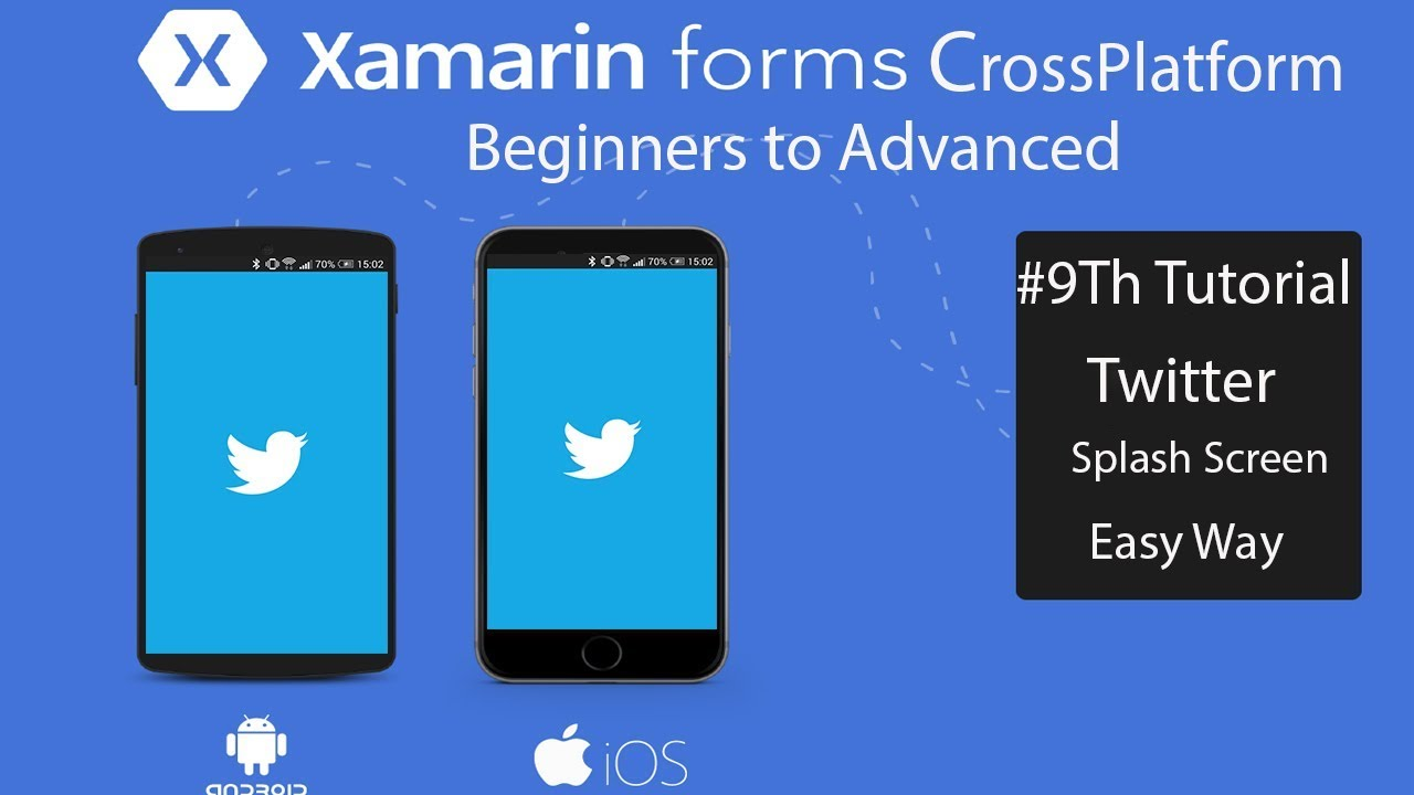 Xamarin Forms WelcomeScreen Fading (Splash Screen) [Tutorial 9]