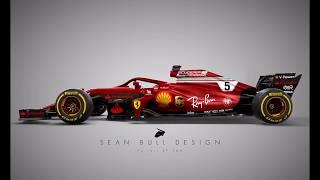 F1 2018 LIVERIES??