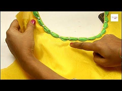 Very Creative Neck Designs for Kurti  Suit  Kameez Dress Churidar, Latest model photo