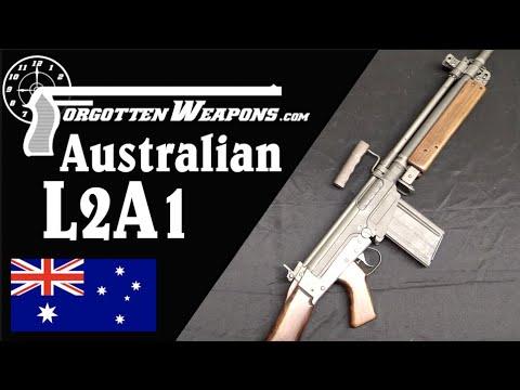 Australia's FAL-Based L2A1 Heavy Automatic Rifle