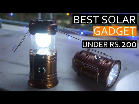 Best Solar Gadget Under 200 – Campaigning Lantern Unboxing
