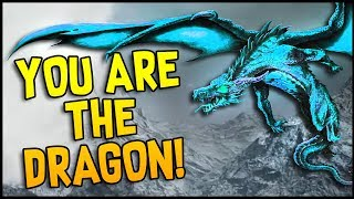Skyfear - YOU ARE THE DRAGON! Dragon PVP! The Black Dragon & Frost Dragon! - Skyfear Gameplay Demo