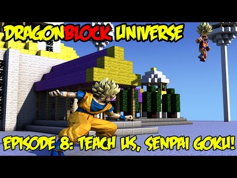 Dragon Block Universe: Train With Senpai Goku! TEACH ME KAMEHAMEHA! [EP 8]