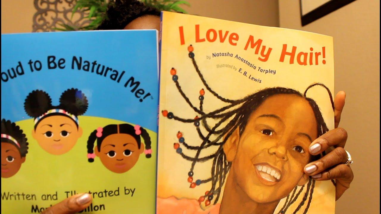 natural hair books kids