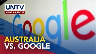 Australian government, hinimok ang Google sa pagbabayad ng Australian content kaysa blocking