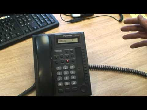 Changing The Time On Panasonic Kxtea308 Or Kxtea824 Telephone System