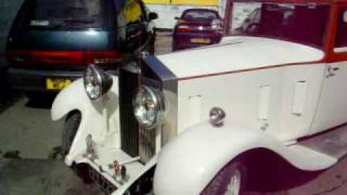 Rolls Royce 20/25 driving