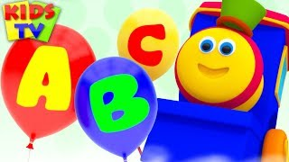 ABC with Balloons | Bob Fun Series | Learning Videos for Kids