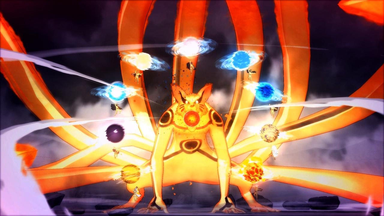 Naruto Uzumaki - Super Tailed Beast Rasen-Shuriken Barrage ...
