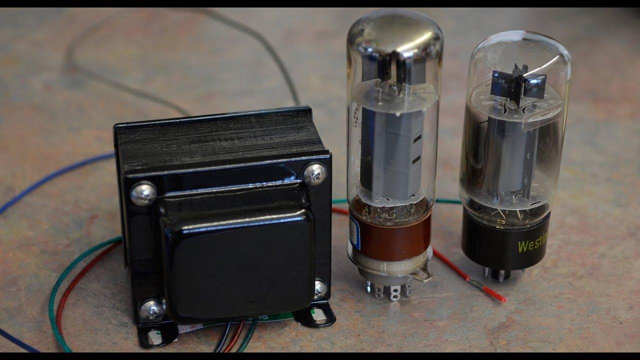 Audio Output Transformer Winding