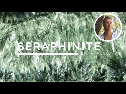 Seraphinite - The Crystal Of Unfurling Wings