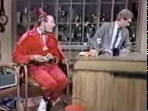 Pee-Wee Herman @ David Letterman, Halloween 1984