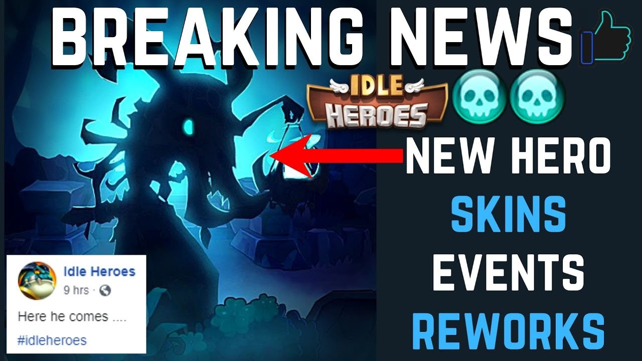 BREAKING NEWS: New Shadow Priest Hero! Horus Reworked SO Strong! Upcoming  Events | Idle Heroes