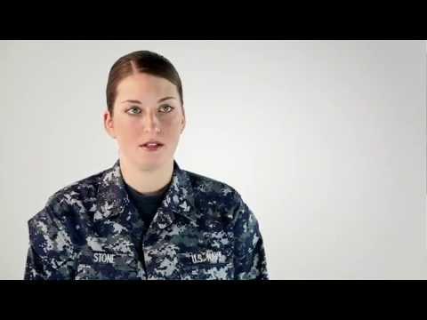 Navy Reserve Intelligence Specialist -- Carina Stone