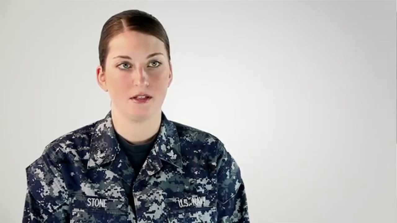 Navy Reserve Intelligence Specialist -- Carina Stone - YouTube