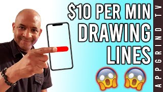 MAKE $10 Every Min Drawing Lines ! (Free Paypal Money)