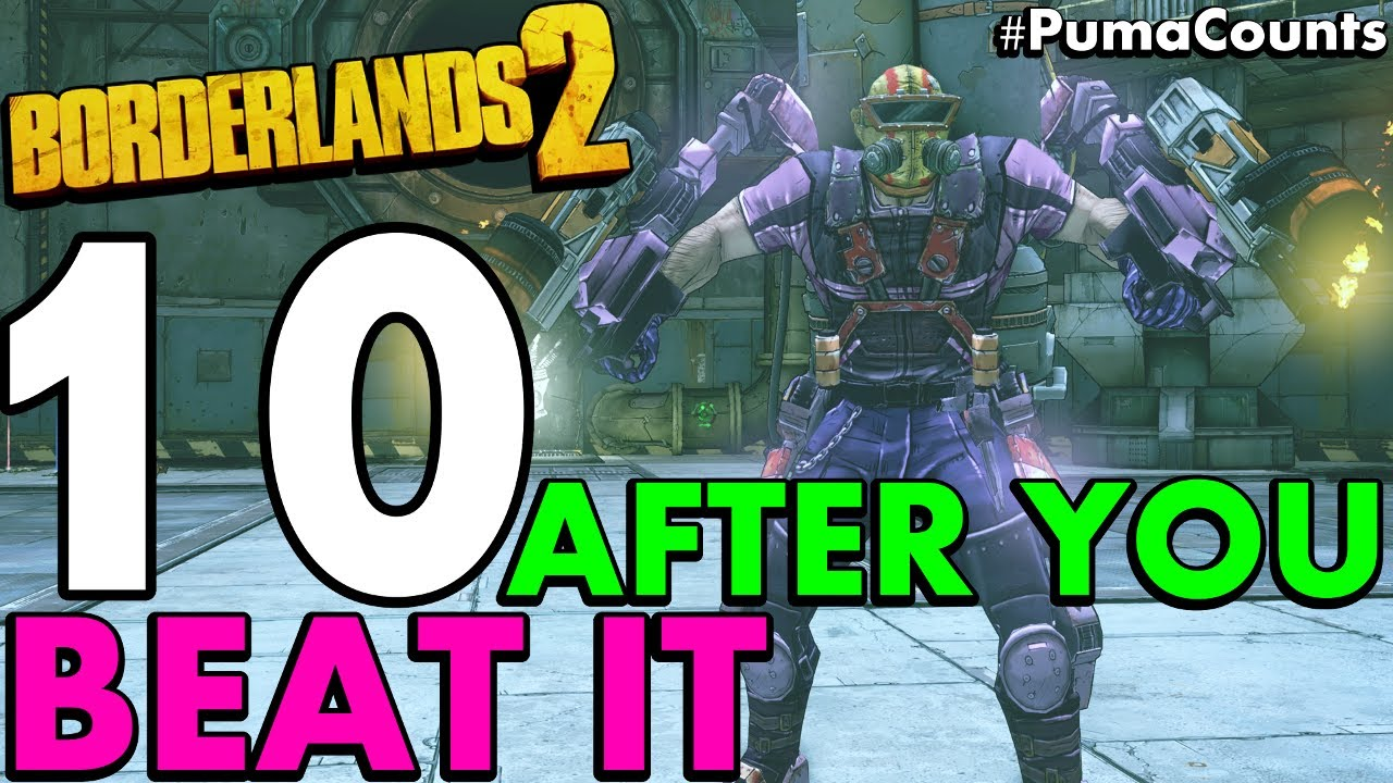 10 Things to do in Borderlands 2 after you Beat the Game