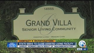 State wants to shut assisted living facility