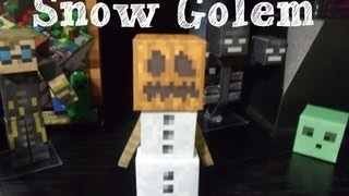 Papercraft - minecraft: Snow Golem