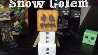Papercraft - minecraft: Snow Golem