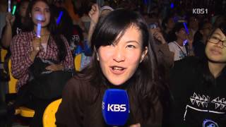 130310 KBS News - Music Bank in Jakarta