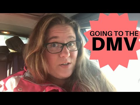 Going To The DMV | Renewing My Drivers License