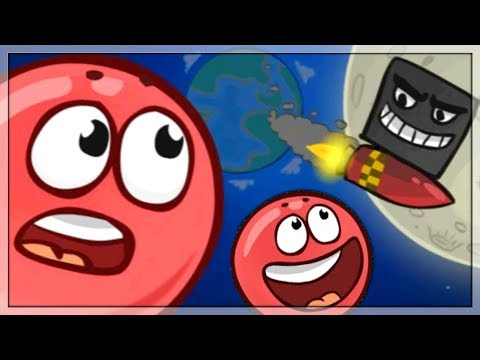 Gry na Androida: Red Ball 4 Gameplay/Walkthrough Battle for The Moon i Walka z Bossem! #4