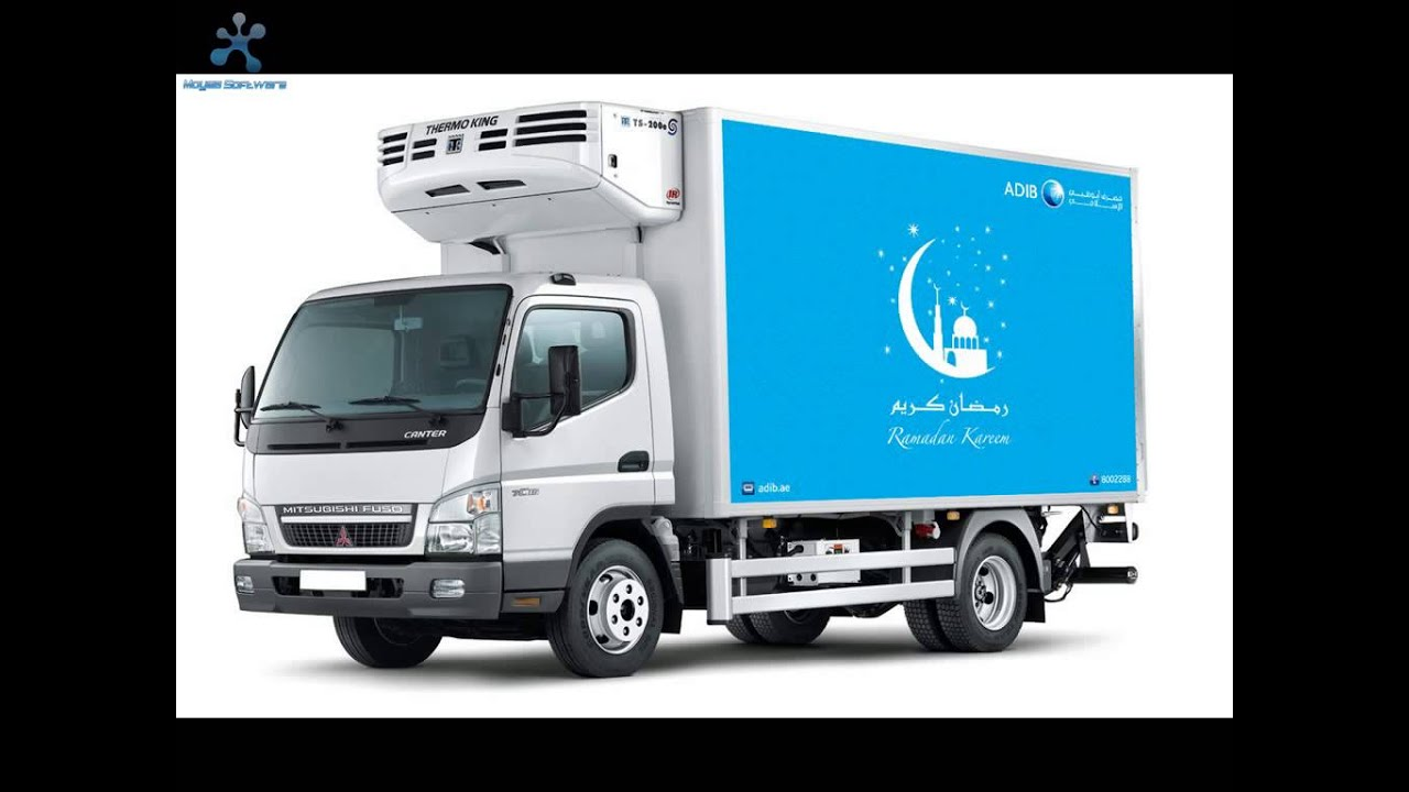 Refrigerated Truck Transport Dubai UAE (Chiller Van