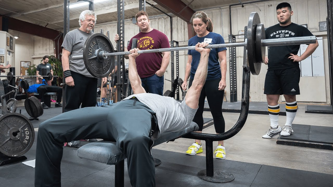 How To Find Your Grip Width For The Bench Press With Mark Rippetoe Youtube