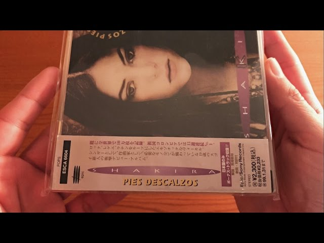 Unboxing | Shakira - Pies Descalzos - Japon (CD Album)