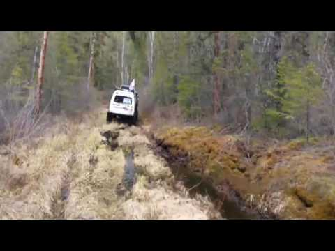 4x4 off road forest expedition