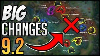 HUGE JUNGLE NERFS? & Irelia Nerfs👌| New Big Changes Coming SOON in Patch 9.2 | League of Legends