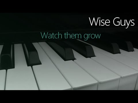 Zach Gill/Wise Guys: Watch them grow | Cover