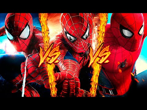 SPIDERMAN VS. SPIDERMAN VS. SPIDERMAN ║ COMBATES MORTALES DE RAP ║ JAY-F, IVANGEL MUSIC & DOBLE CERO