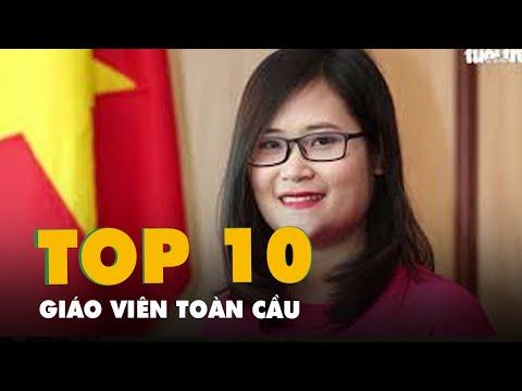 Lần đầu tiên cô giáo Việt Nam vào top 10 giáo viên toàn cầu
