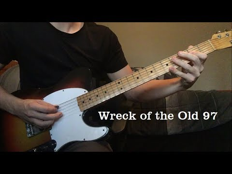 Wreck of the Old 97 by Johnny Cash - Luther Perkins Instrumental