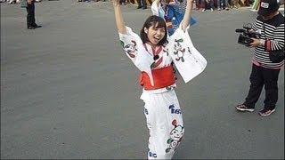 2013台灣燈會踩街遊行 - 盛岡さんさ踊り in Taiwan