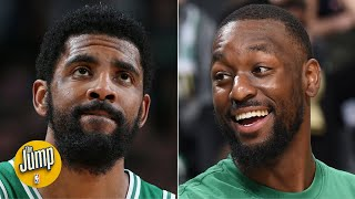 Download Kemba reacts a lot differently to teammates' misses than Kyrie did - Jackie MacMullan   The Jump Mp3 and Videos