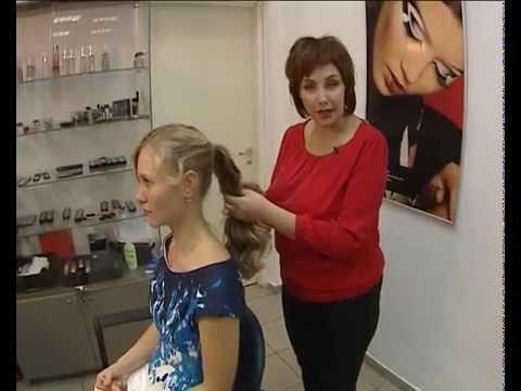 Причёски под разные вырезы от Виктории Нагибиной
