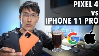 Pixel 4 vs iPhone 11 Pro review. (Which has the better camera?)