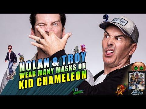 Nolan North and Troy Baker Wear Many Masks on Kid Chameleon