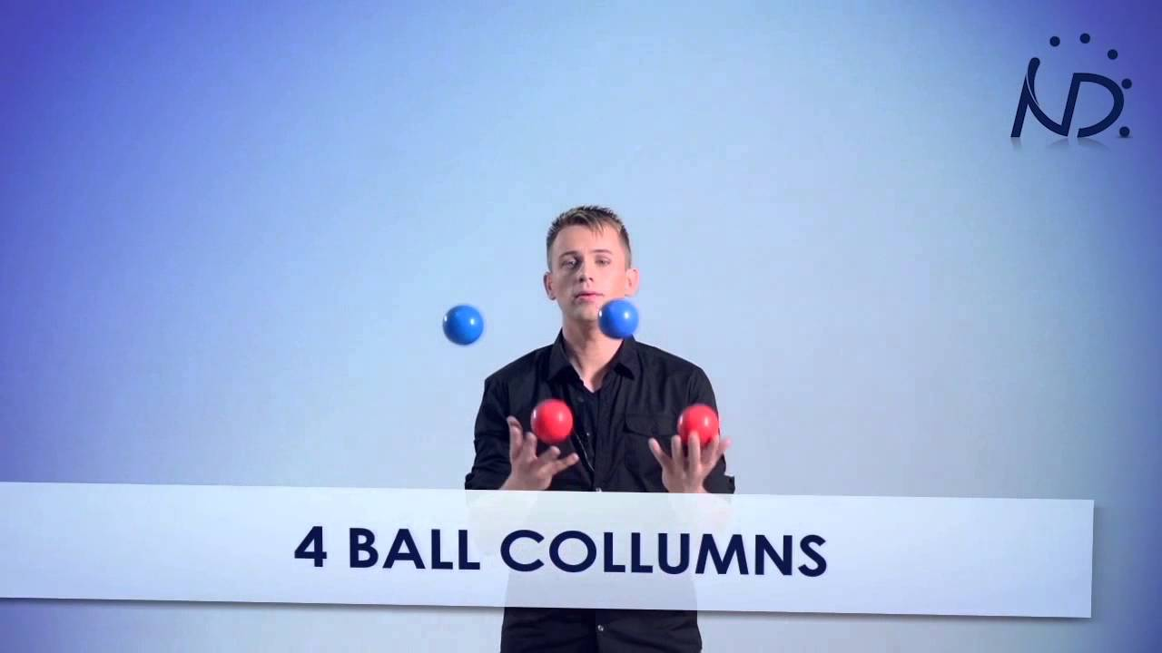 Tutorial how to juggle 4 balls instructional video youtube.