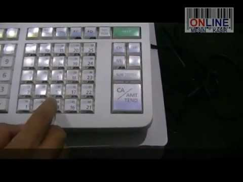 casio pcr t2000 how to change receipt message