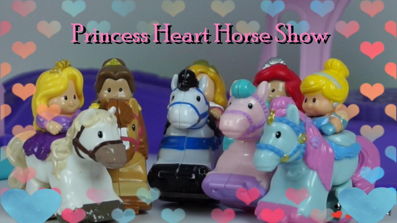 Barbie Chelsea and Friends - Go To Disney Princess Klip Klop Horse Show
