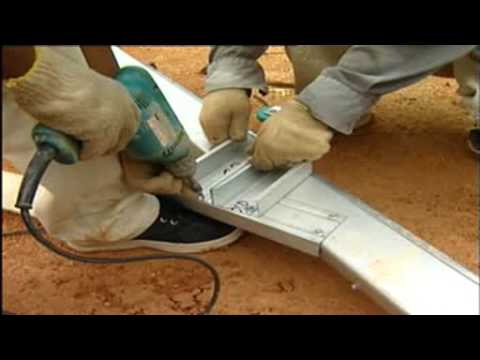 Truss Fabrication on site