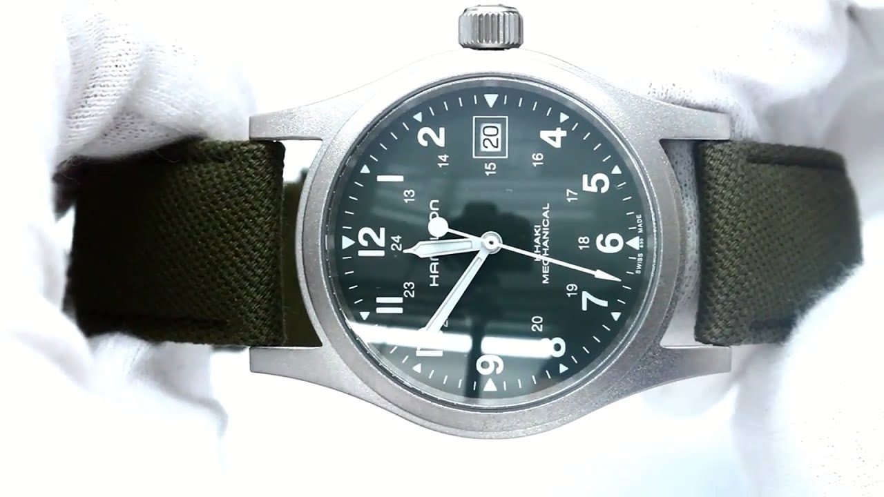 Hamilton Khaki Field Review Automatic Watches For Men