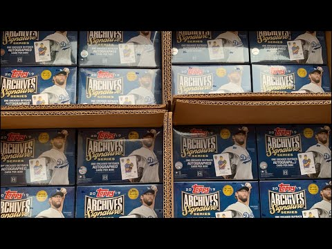 OPENING 80 BOXES OF 2019 TOPPS ARCHIVES SIGNATURE SERIES!