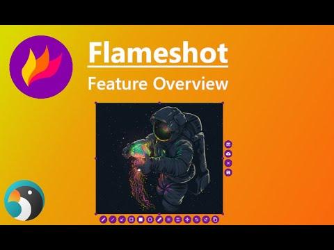 Linux Applications - Flameshot