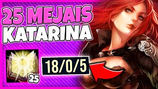 Download lagu WHEN KATARINA GETS 25 MEJAIS STACKS IN 15 MINUTES League of Legends MP3